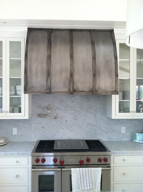 Range Hoods Rustic Kitchen San Francisco By Steel