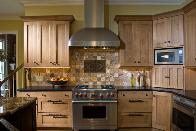 Range wall traditional kitchen other metro by kitchens unlimited - Kitchen designs unlimited ...
