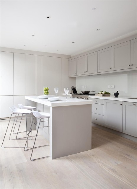 Rathmines Townhouse Contemporary Kitchen Dublin By Woodale