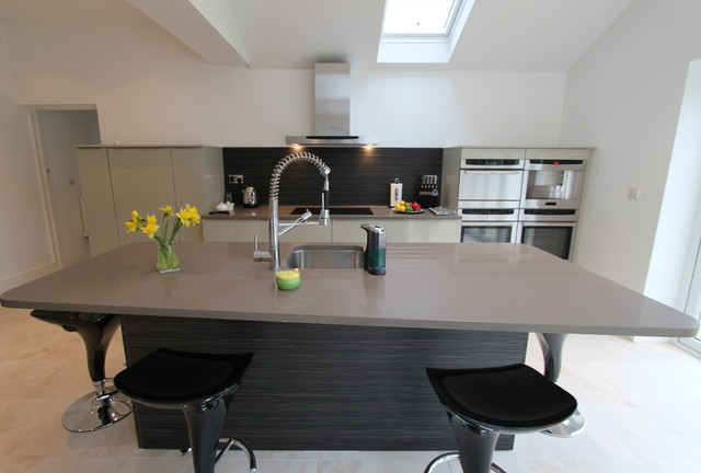 rational kitchens cardiff - contemporary - kitchen - cardiff -