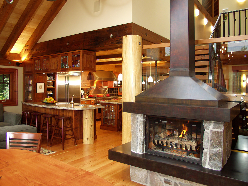 Ravens Wood Whistler BC - Traditional - Kitchen ...