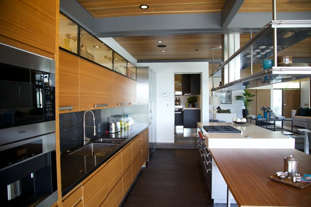 Ray Kappe LEED Pre-fab - Modern - Kitchen - los angeles - by Natalie Epstein Design