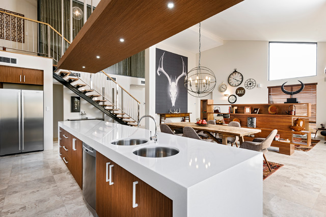 Rbc Bletchley Loft Contemporary Kitchen Perth By Jodie Cooper Design