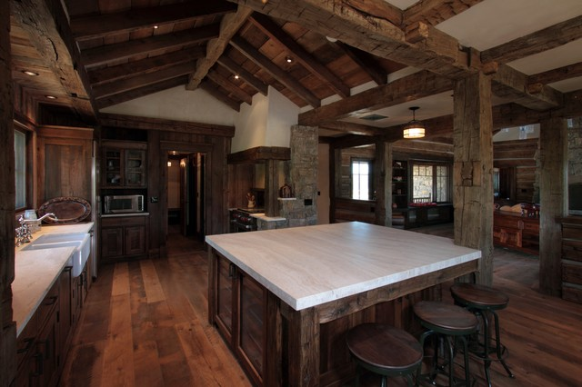RBMB RANCH traditional-kitchen