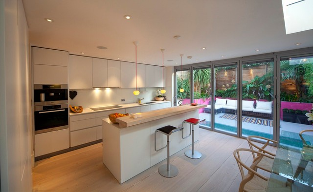 Battersea basement extension for Extension to kitchen ideas