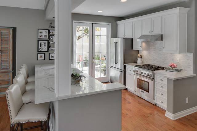 Reborn Cabinets Kitchen Reface Irvine Ca Contemporary