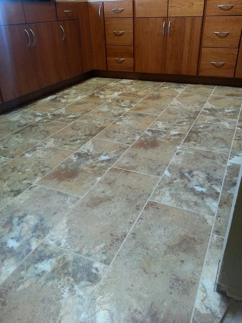 Recent Floor Installations Traditional Kitchen San
