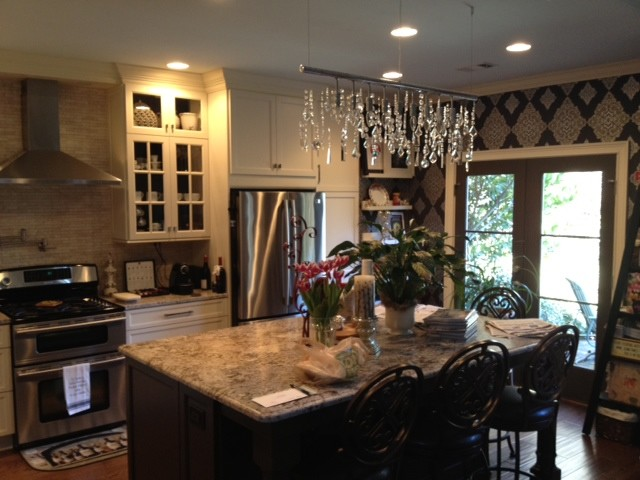 Recent transformations traditional-kitchen
