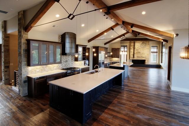 Reclaimed tobacco pine hardwood flooring contemporary for Tobacco pine flooring