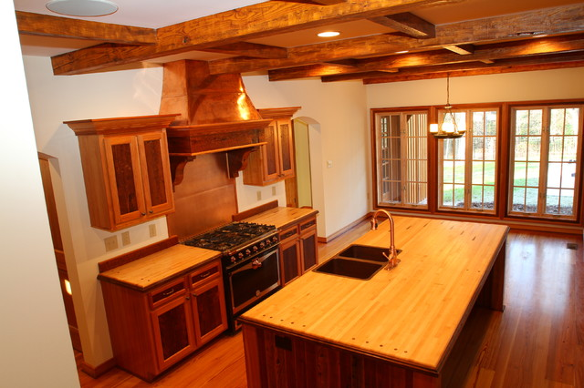 Reclaimed Wood Kitchen contemporary-kitchen