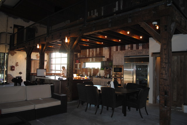 reclaimed wood styles traditional-kitchen