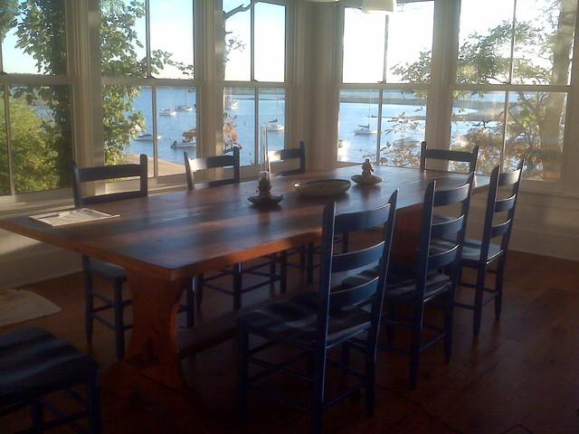 Reclaimed Wood Tablemodern Kitchen Boston