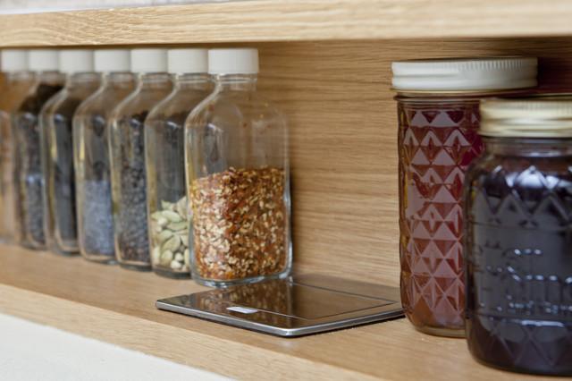 Reclaimed Work of Art modern-kitchen