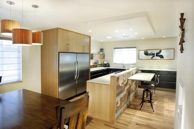 Reclaimed Work of Art - Contemporary - Kitchen - Denver - by Design Platform