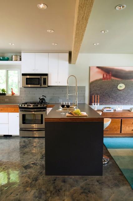 Rectangle Contemporary Kitchen Calgary By Rectangle Design Inc