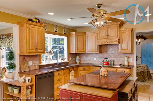 Red Granite New York : Red dragon granite kitchen countertops marble