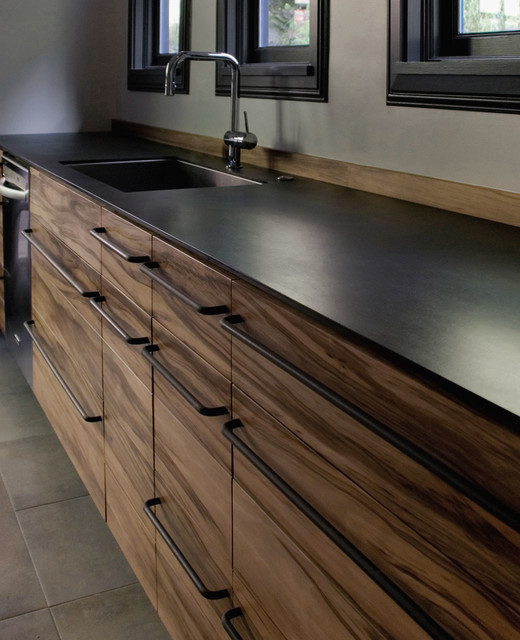 Red gum kitchen contemporary-kitchen