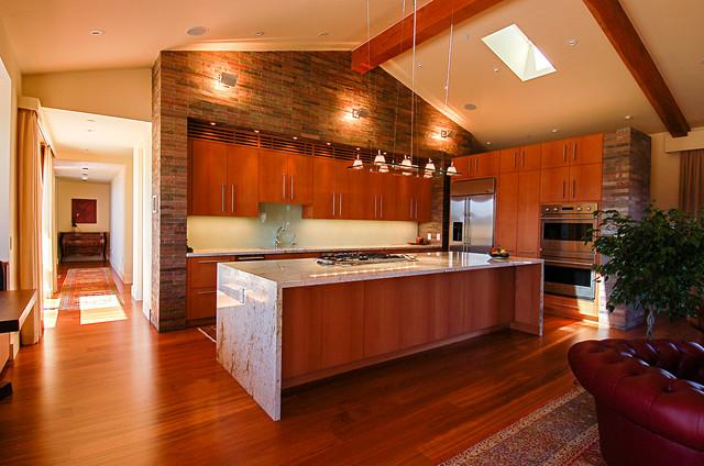 Red Hawk Residence, Sedona, Arizona. contemporary-kitchen