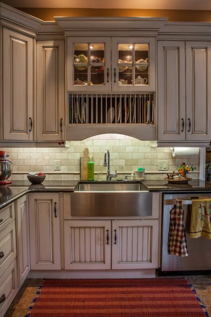 Red Hood Ladies Eclectic Kitchen Toronto By Allen Interiors Design Center Inc