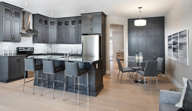 Red Oak Model Home: Kitchen - Traditional - Kitchen ...