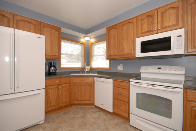 Red oak remake traditional kitchen other metro by for Kitchen remake