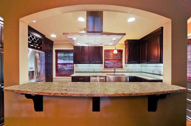 Red River Remodelers modern Kitchen traditional-kitchen