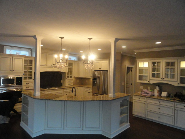 Red Tail Avon Transitional Kitchen Cleveland By