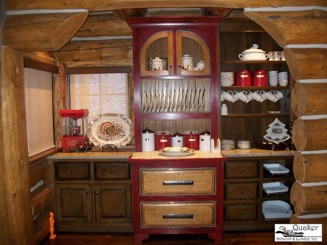 Redberry traditional kitchen other by quaker for Quaker kitchen design