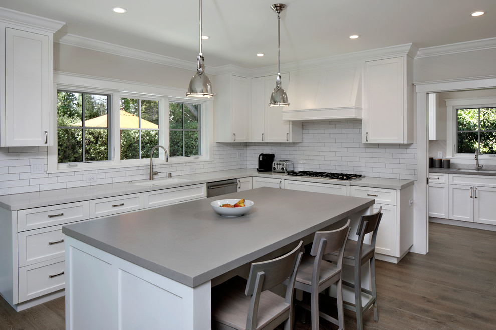 Redwood City - full home remodel & addition - Traditional ...