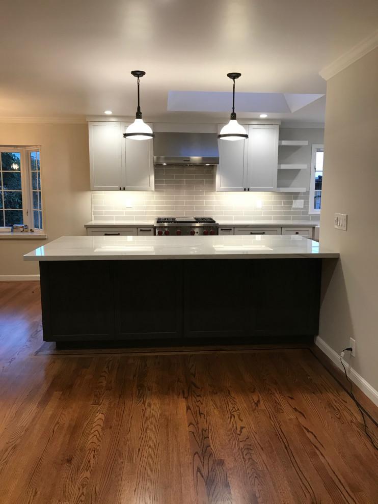 Redwood City Kitchen Remodel - Traditional - Kitchen - San ...