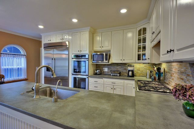 Redwood City Kitchen Remodel Traditional Kitchen San Francisco By Holly Durocher Design