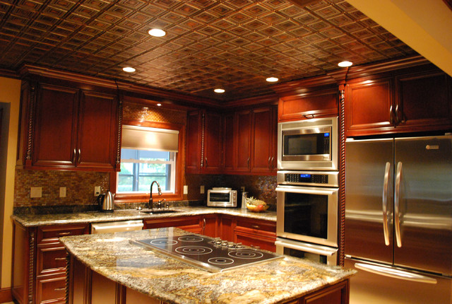 Charmant Inspiration For A Timeless Kitchen Remodel In Tampa. Email Save. American Tin  Ceilings