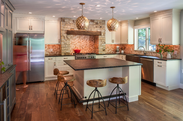Refined rustic traditional kitchen philadelphia by for Traditional rustic kitchen design