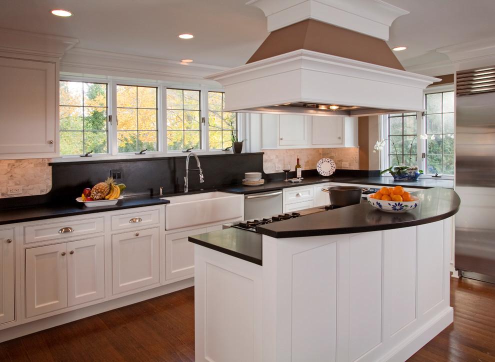 Refined Shaker Kitchen Remodel: Bryn Mawr, PA ...