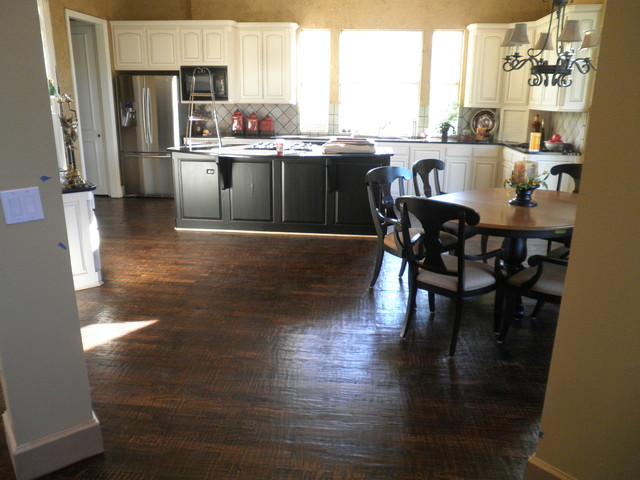 ... Engineered Hardwood Flooring In Kitchen