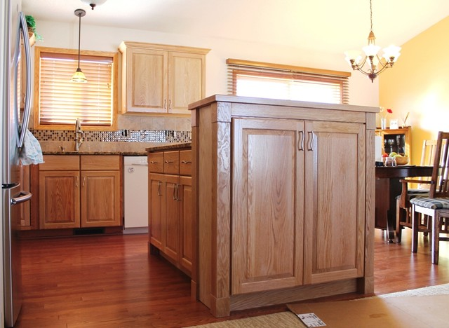Refresh An Oak Kitchen Traditional Kitchen Other By Encore