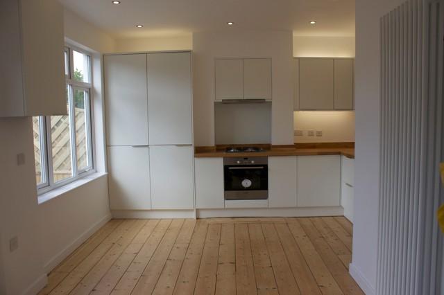 Refurbishment of 1930s semi modern kitchen south for Bathroom ideas 1930s semi
