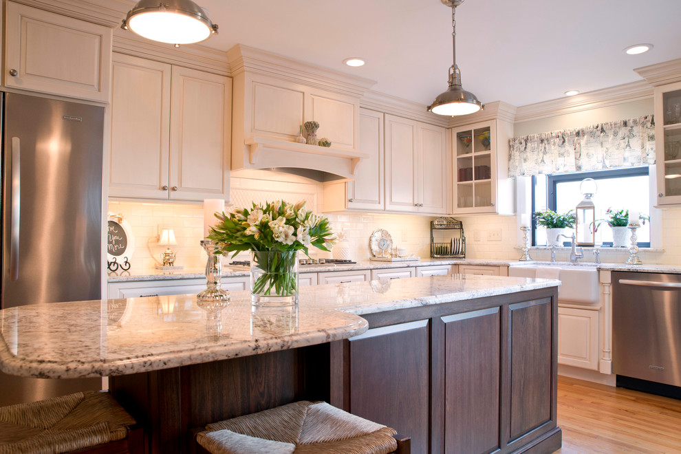 Regan Residence - Traditional - Kitchen - New York - by ...