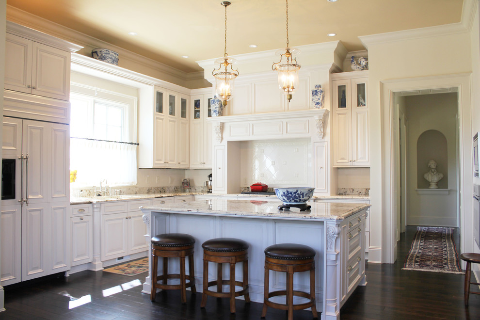 Regency Inspired Residence - Traditional - Kitchen ...