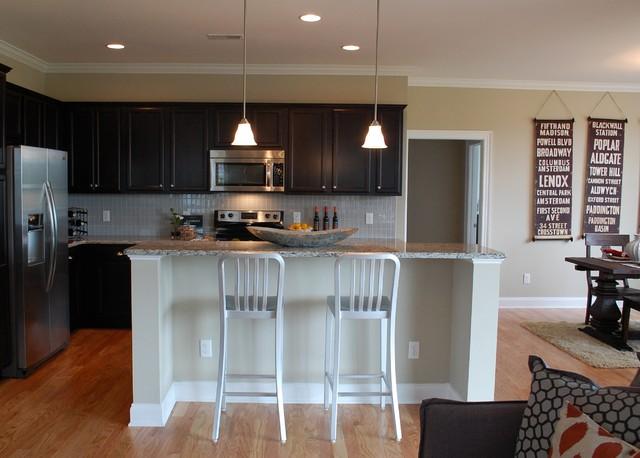 Regency Lakes Crosby contemporary-kitchen