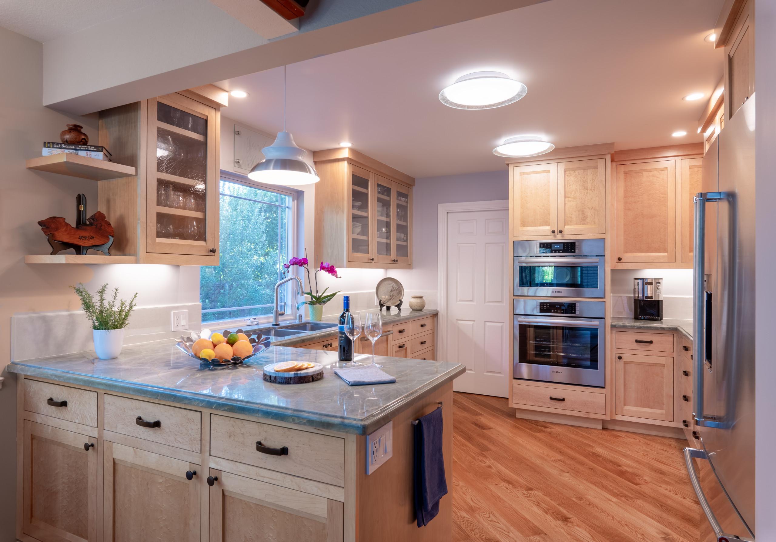 Reimagined Los Altos Ranch Kitchen