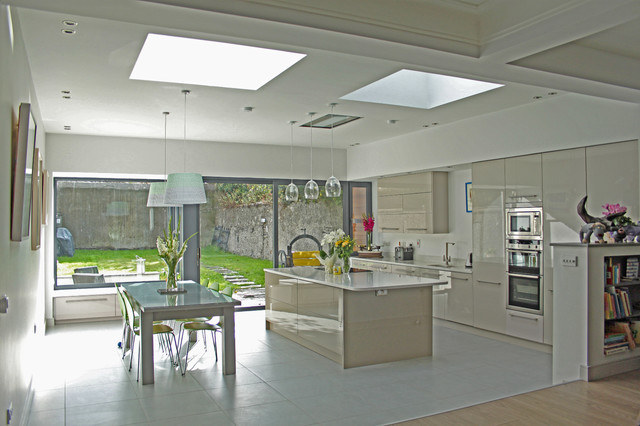 Remodel And Extension Of House In Terenure Dublin 6w Modern Kitchen Dublin By Dmvf