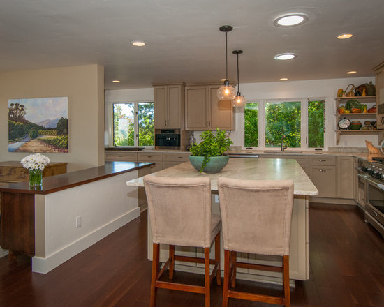 Craftsman Kitchens With White Cabinets Home Design, Photos & Decor