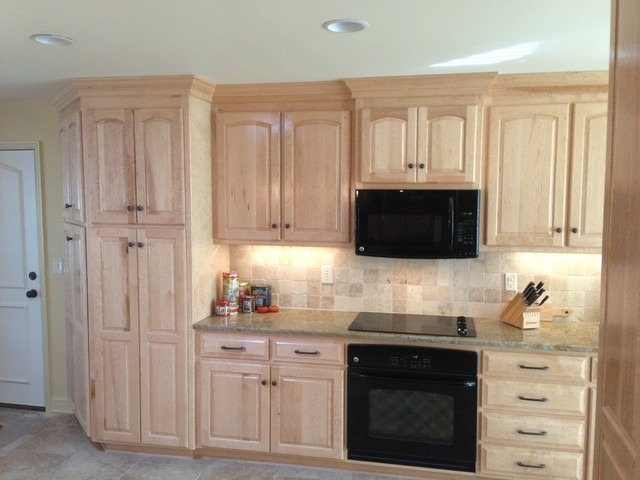 REMODEL NEW HOME traditional-kitchen