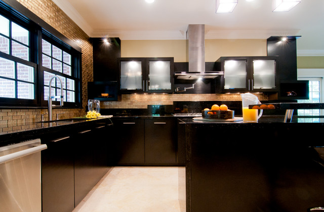 remodel contemporary kitchen