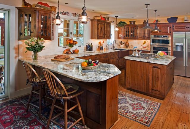 Remodeled kitchen traditional kitchen philadelphia for Kitchen design 14x14