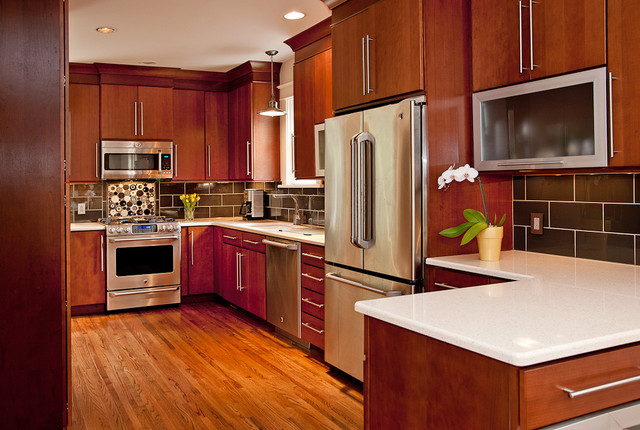 Remodeled Kitchen For A 1920 39 S Home Modern Kitchen