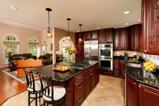Remodeled Kitchen is Hub of the Home traditional-kitchen