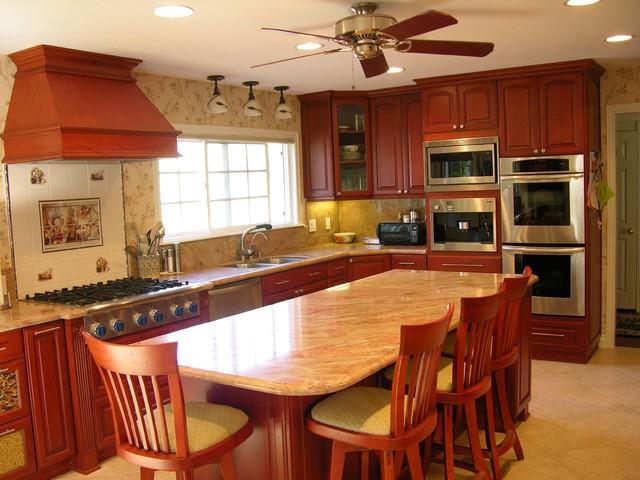 Remodeled Kitchen traditional-kitchen