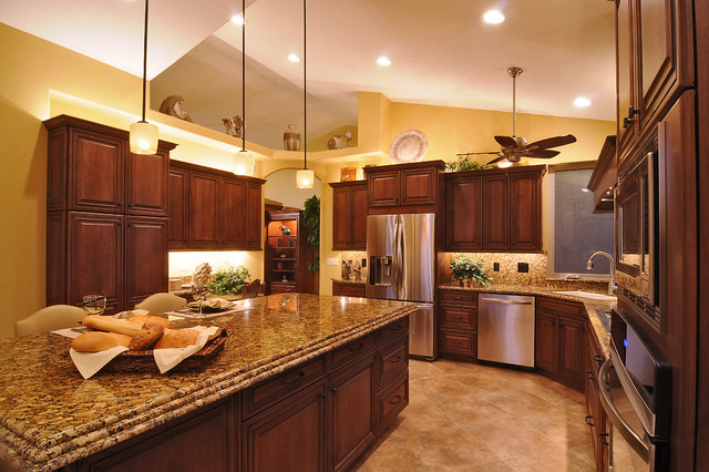 Remodeled kitchens by cook remodeling traditional for Pics of kitchen